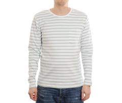 Makia Verkstad Long Sleeve Mint / White