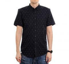 Makia Anchors S/S Shirt Dark Navy