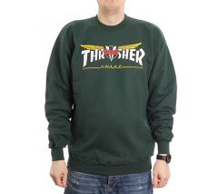 Thrasher Venture Collab Crew Forest Green