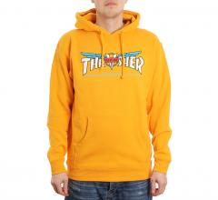 Thrasher Venture Collab Hoodie Gold
