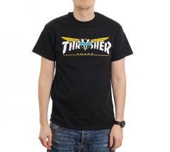 Thrasher Venture Collab Tee Black