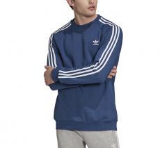 Adidas Originals 3 Stripes Crewneck Sweatshirt Night Marine