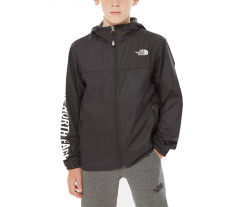 The North Face Youth Reactor Wind Jacket TNF Black / TNF White
