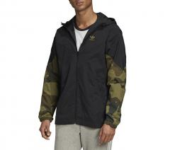 Adidas Originals Camouflage Windbreaker Black