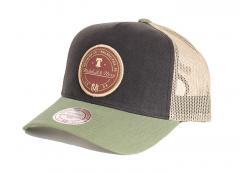 Mitchell & Ness 3 Tone Trucker Black / Olive