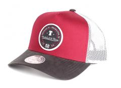 Mitchell & Ness 3 Tone Trucker Burgundy / Black