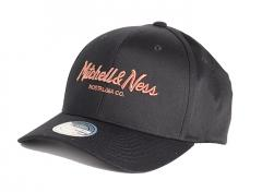 Mitchell & Ness Metallic Pinscript Snapback Black / Copper