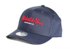 Mitchell & Ness 110 Snapback Navy / Red / White