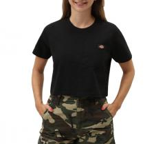 Dickies Womens Ellenwood Cropped Tee Black