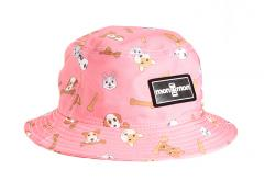 "Monmon ""The Bucket Hat"" Dogs Coral"