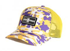 "Monmon ""The Cap"" Trucker Angels Camo Purple / Yellow / White"