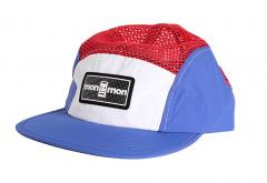 "Monmon ""The Cap"" Cyclist Off White / Blue / Red"