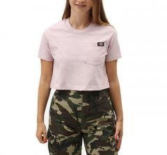 Dickies Womens Ellenwood Cropped Tee Violet