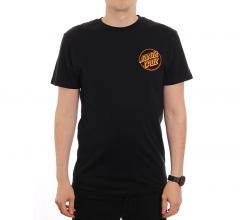 Santa Cruz Opus Dot Tee Black