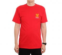Brixton Descent Standard Tee Red