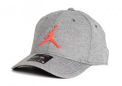 Nike Jordan Classic 99 Jumpman Metal Snapback Black / Heather / Infrared