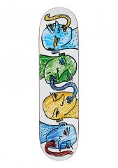 Polar Skate Co. TEAM - Kissing Heads 8.125