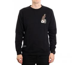 Makia x Von Wright Eagle Sweatshirt Black