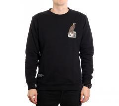 Makia x Von Wright Eagle Sweatshirt Black