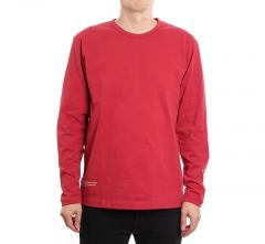 Makia x Von Wright Pigeons Long Sleeve Red