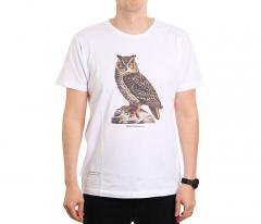 Makia x Von Wright Bubo T-shirt White