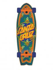Santa Cruzer Complete Vacation Dot Cruzer Shark Multi 28""