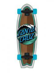 "Santa Cruzer Complete Wave Dot Cruzer Shark Multi 28"""