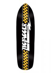 Krooked Zip Zagger Classic Deck Black / White 8.6