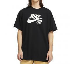 Nike SB Logo Skate Tee Black / White