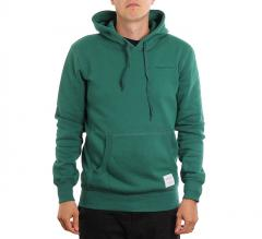 Mitchell & Ness Classic Fleece Hoodie Dark Green