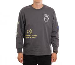 Polar Skate Co. Notebook Longsleeve Graphite