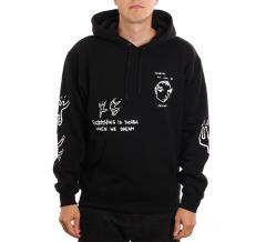 Polar Skate Co. Notebook Hoodie Black