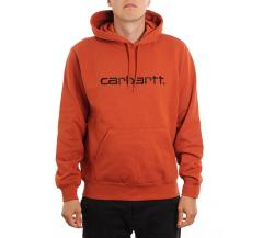 Carhartt WIP Hooded Sweatshirt Cinnamon / Black