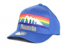 Mitchell & Ness Denver Nuggets 110 Snapback Blue