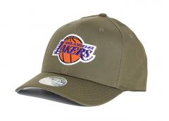 Mitchell & Ness Los Angeles Lakers 110 Snapback Olive