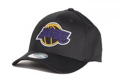 Mitchell & Ness Los Angeles Lakers 110 Snapback Blackout