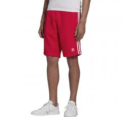 Adidas Originals 3 Stripes Shorts Scarlet