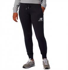 New Balance Womens Essentials French Terry Sweatpant Black