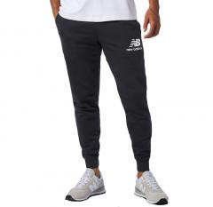 New Balance Essentials Stacked Logo Sweatpants Black