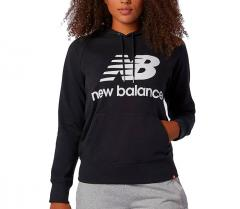 New Balance Womens Essentials Hoodie Black