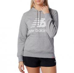 New Balance Womens Essentials Hoodie Athletic Grey