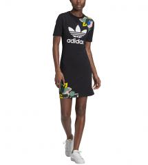 Adidas Originals Womens HER Studio London Tee Dress Black