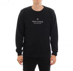 Makia Horizon Light Sweatshirt Black