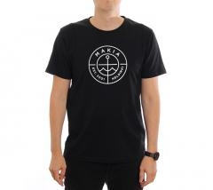 Makia Re-Scope Tee Black