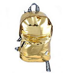 "Monmon ""The Foil One"" Backpack Gold"