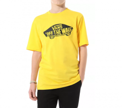 Vans Youth OTW Tee Lemon Chrome / Black