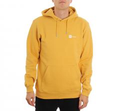 Makia Dylan Hooded Sweatshirt Ochre