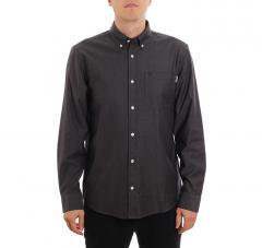 Carhartt WIP L/S Dalton Shirt Black / Husky