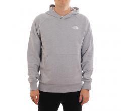 The North Face Raglan Redbox Hoodie TNF Light Grey Heather