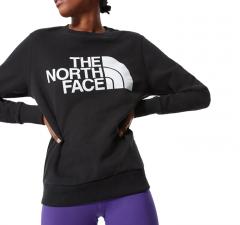 The North Face Womens Standard Crew TNF Black
